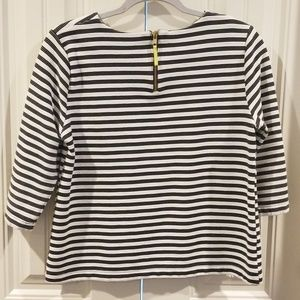 Merona Tops - Medium Merona Black White Striped Top